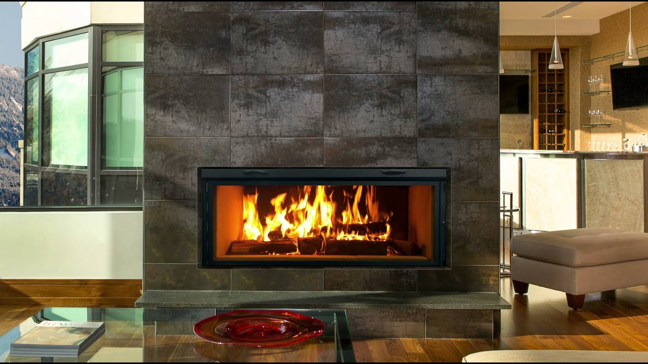 renaissance linear 50 fireplace burning youtube