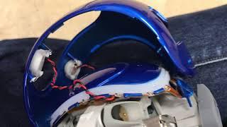 ヒューマノイドロボットNAO V5 の頭部を外して中を見る