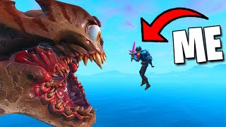 I Tried STOPPING THE MONSTER - Fortnite