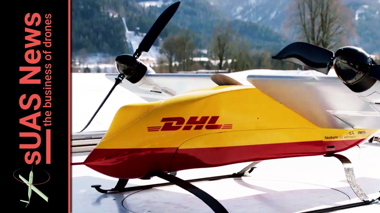 Delivery Drones Dhl Steals Ups Thunder Youtube