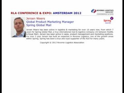 Amsterdam 2012: Implementing an effective returns management system for webshops