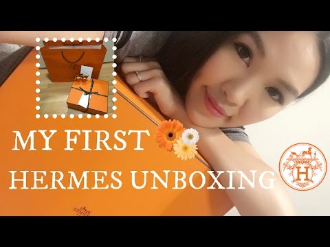 My First Hermes Unboxing & VLOG♥ | ANGELBIRDBB