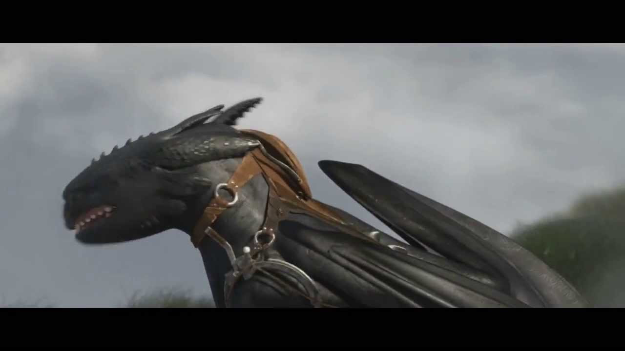 Toothless Pouting Big Baby Boo HTTYD 2 Trailer  YouTube
