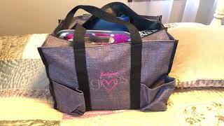 Zip Top Organizing Utility Tote Thirty One
