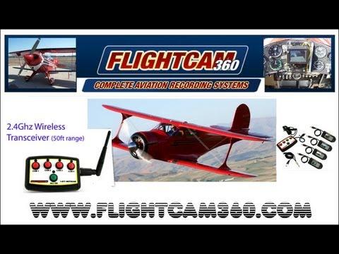 Flightcam 360, Motocam 360, video recording system, Arlington Fly-In Arlington Washington.