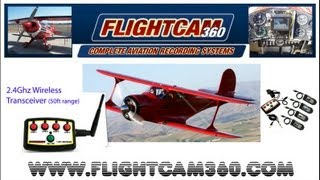 Flightcam 360, Motocam 360, video recording system, Arlington Fly-In Arlington Washington.