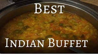 Cheap & Delicious Indian Buffet in INDIA