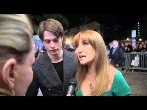 SBIFF 2016: Jane Seymour And Nicholas Galitzine Red Carpet Interview