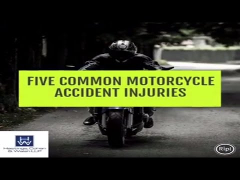 5 Common Motorcycle Accident Injuries  | Connecticut Motorcycle Injury Lawyer
