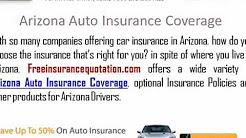 Arizona Auto Insurance Company - Cheap Arizona Auto Insurance Rates