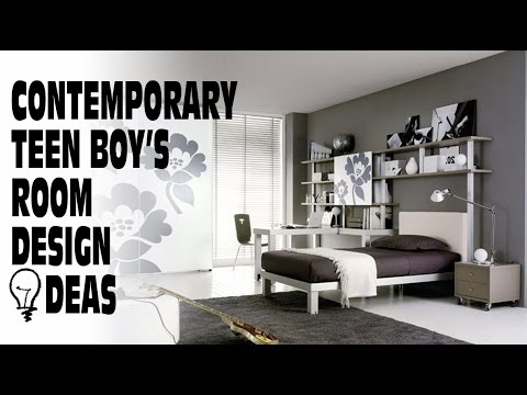 Contemporary Boy S Room Design Ideas
