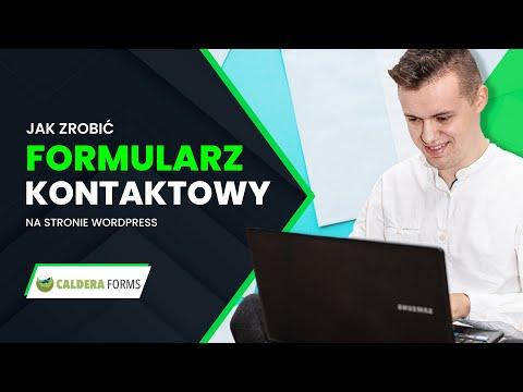 JAK ZROBIĆ FORMULARZ KONTAKTOWY NA STRONĘ (WTYCZKA CALDERA FORMS) from YouTube · Duration:  23 minutes 51 seconds