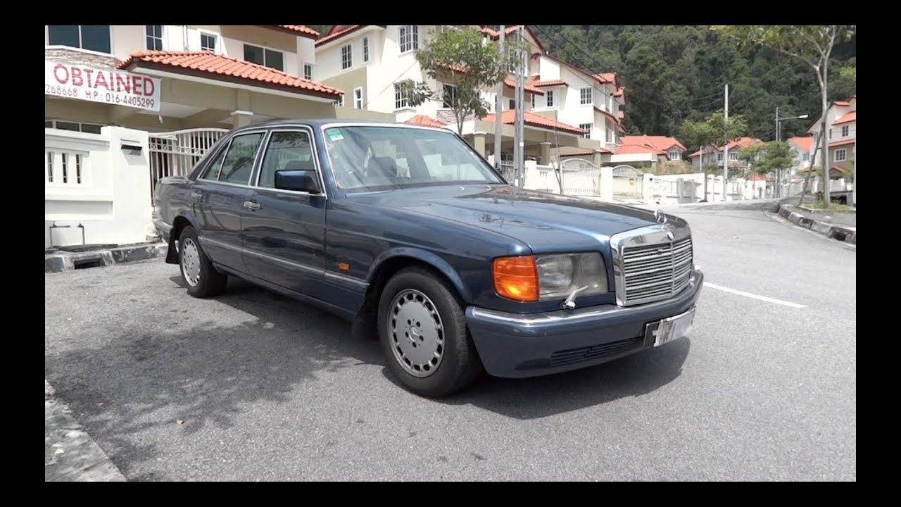 1990 mercedes benz 300 se start up full vehicle tour and quick drive youtube