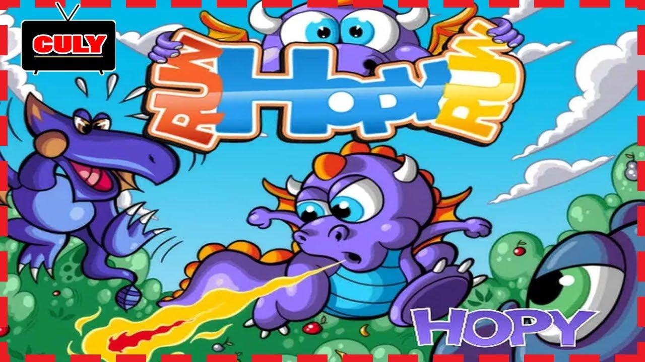 Chơi Run Hopy Run rồng con phiêu lưu – cu lỳ chơi game lồng tiếng vui nhộn