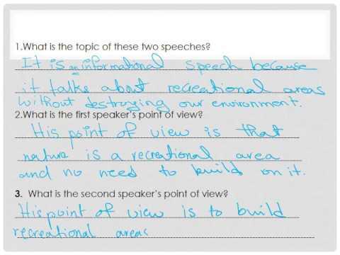 Unit 4 Grade 5 English Review Worksheet