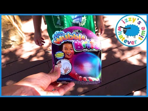 Izzy's Whatever Time! The Amazing WUBBLE ZUBBLE BUBBLE BALL.