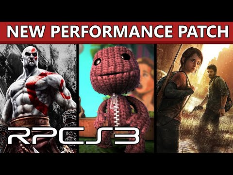 RPCS3 - Major Performance Improvements In TLoU, GoW 3 + Ascension, LBP 2-3, And More! (MLAA Patch)