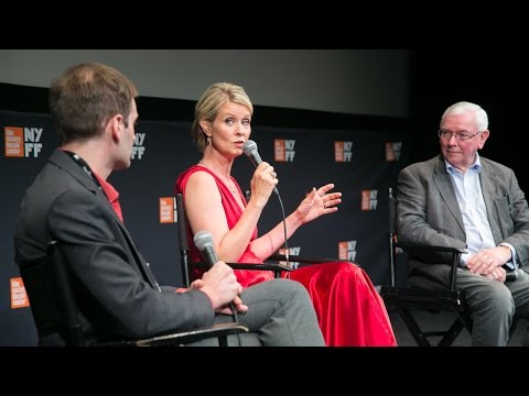 'A Quiet Passion' Press Conference | Terence Davies & Cynthia Nixon | NYFF54