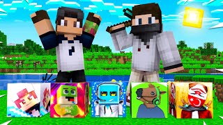 youtuber lucky block minecraft