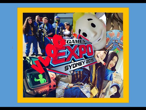 EB GAMES EXPO '15 SYDNEY - FALLOUT 4 COSPLAY VLOG