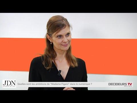 """FIGARO MEDIAS - Quelles sont les ambitions de """"Madame Figaro"""" dans le numérique ?"""