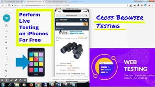Cross Browser Website Testing On iPhones Online For Free