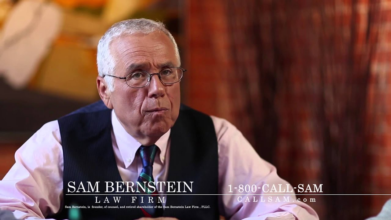 Success is a Tradition: The Sam Bernstein Law Firm - YouTube