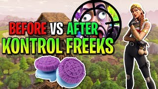 "Do ""KONTROL FREEKS"" Make You BETTER AT FORTNITE? - How To Aim Better On Console Fortnite SEASON 9!"
