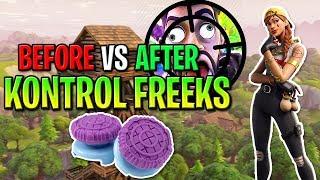 """Est-ce que """"KONTROL FREEKS"""" vous rend BETTER AT FORTNITE? - Comment viser mieux sur console Fortnite SEASON 9!"""