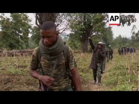 DRC troops at border after clashes with rebels