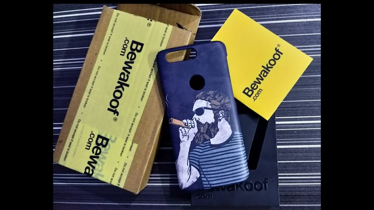 separation shoes d7ab1 60a80 Bewakoof.com Case Unboxing || bewakoof.com backcover for one plus 5t review  || Is it worth buying?