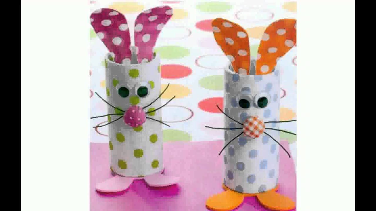 Simple craft ideas for kids youtube for Simple handicraft project