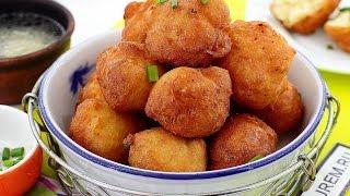 Download Нежные и воздушные картофельные пончики Mp3 and Videos