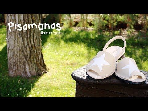 Menorquinas Nobuck con Estrella   Sandalias Avarcas Niños from YouTube · Duration:  31 seconds