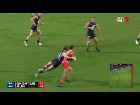 Highlights: Gold Coast v Carlton