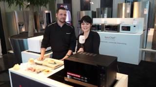 Kochen mit LG Neochef Mikrowellen: MH6535GIS und MH6535GIH   Roadshow 2017