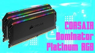 [Cowcot TV] Présentation kit mémoire DDR4 CORSAIR Dominator Platinum RGB