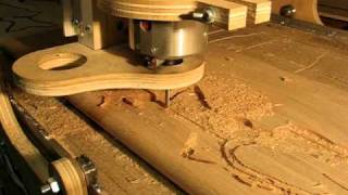Carving A Wood Fish