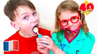 Histoire du dentiste en famille pour enfants Cinq Enfants