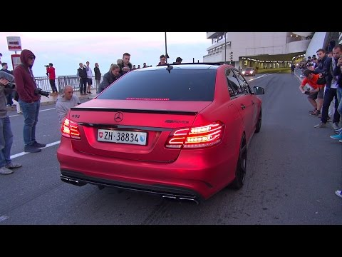 BEST OF MERCEDES-AMG SOUNDS! C63, E63, SLR, G63, CLS63