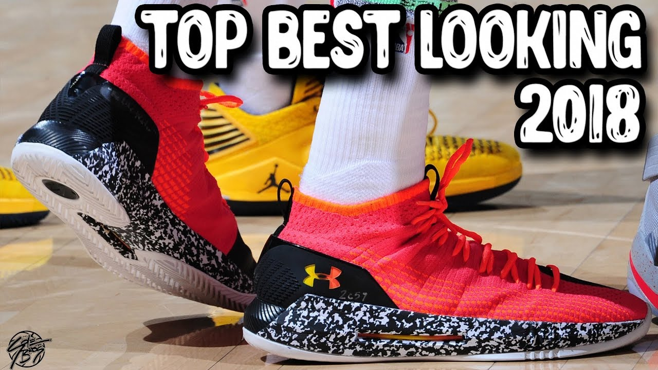 23e16d4234dd Top 10 Best Looking Basketball Shoes 2018! - YouTube