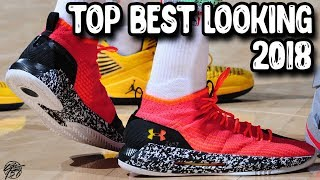 Top 10 Best Looking Basketball Shoes 2018!