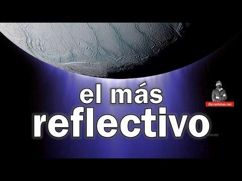 El cuerpo espacial más reflectivo en nuestro Sistema Solar