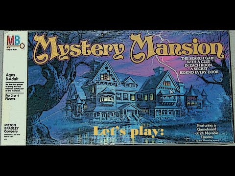 Mystery Mansion Board Game Boardgamegeek