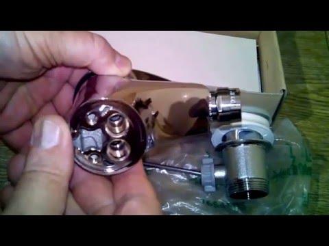 Смеситель для биде Emmevi серии Jolly New с донным клапаном арт. CR 10004 G хром.