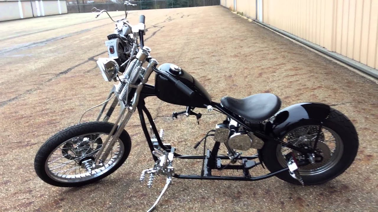 Harley Panhead Roller for sale until 12/31/2015 - YouTube