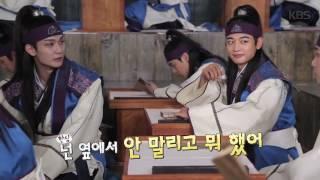 Хваран, Hwarang The Beginning BTS,  съёмки в классе