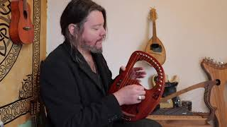 My first Song on Lyre Harp