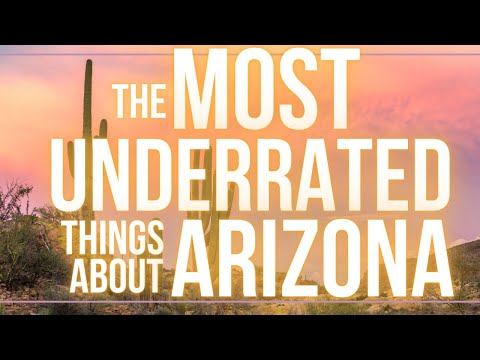 Most Underrated Things About Living in Arizona!!