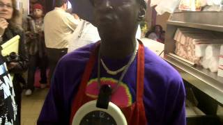 Rapper Flavor Flav Of Public Enemy Explains How To Fry Great Chicken